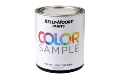 Kelly-Moore Paints Free Color Sample Quart