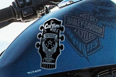 Cal Jam 18, Foo Fighters, and Harley-Davidson® Sticker