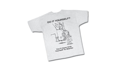 "Free ""Do It Yourself"" T-Shirt"