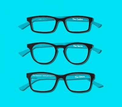 Free Cardboard Cutouts of Eyewear Frames