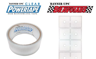 Free Roll of Clear Power Tape