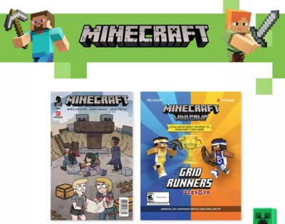Free Minecraft Merchandise at Target
