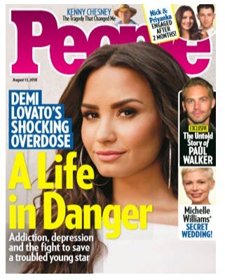 Free one year subscription to People Magazine
