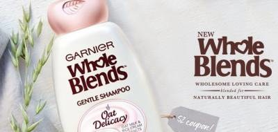 Free Sample Of Whole Blends Oat Delicacy Shampoo & Conditioner