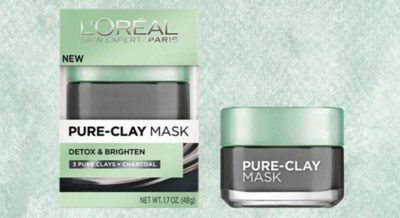 PinchMe - Free L'Oreal Charcoal Clay Mask