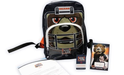 Free Chicago Bears Kids Club Kit