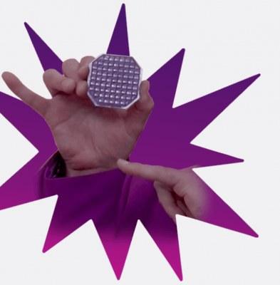 Free sample of Purple's Smart Comfort Grid