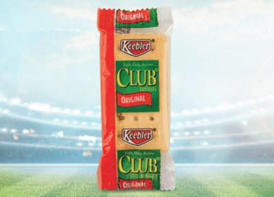 Free Samples of Keebler® Club® Crackers