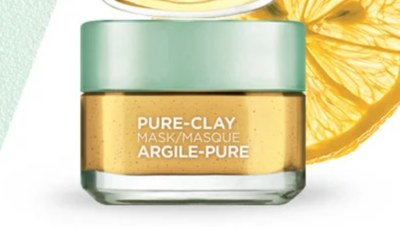 Pure Clay Mask Sample from Loreal