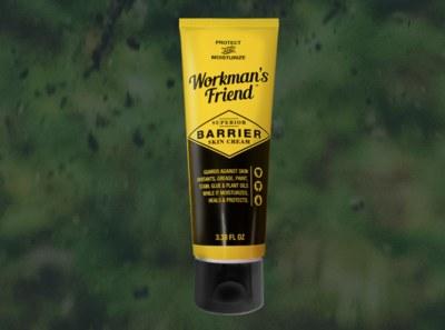 Free Sample of Workman's Friend Superior Barrier Skin Cream