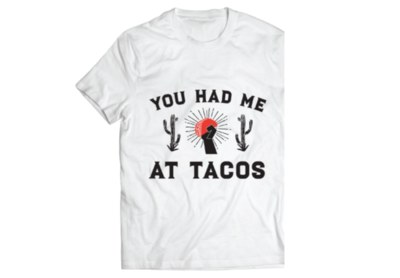 Free Chicken Taco and Chance to win T-Shirt