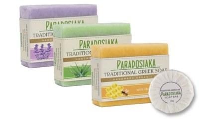 Free Sample of Paradosiaka Greek Olive Oil Soap