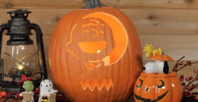 photo regarding Peanuts Pumpkin Printable Carving Patterns identify Tryspree - Cost-free Pumpkin Carving Template versus Hallmark