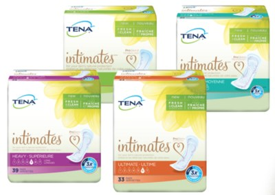 Free Sample of NEW TENA Intimates Pads