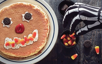 Free Scary Pancake from IHOP for Kids