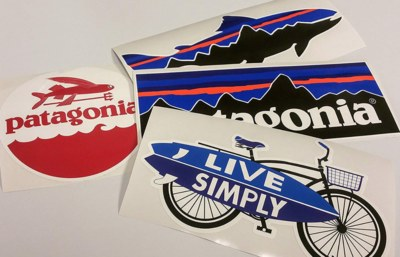 Tryspree - Free Stickers from Patagonia