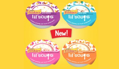 Free Sample of NEW Friskies Lil' Soups!