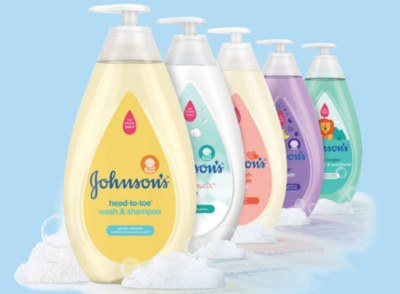 Free Johnson's Baby Product Sample
