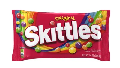 YOU COULD WIN A FREE SKITTLES!