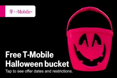 Free Halloween Bucket from TMobile