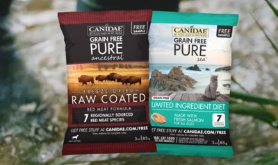 Free Pet Food Samples by Canidae
