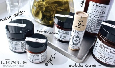 Free LĒNUS Handcrafted Skincare Samples