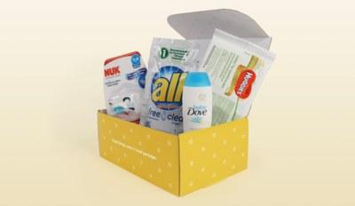 Free Baby Box by WalMart