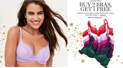 Free Bra from Victoria Secret
