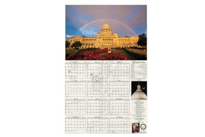 Free 2019 Calendar from Arkansas