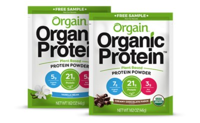 Free Orgain Protein Powder Samples