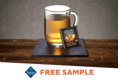 Free Sample of Steep by Bigelow® Organic Lemon Ginger Herbal Tea