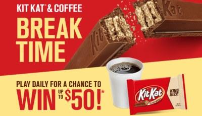 Instant Win Game from Kit Kat Break Time