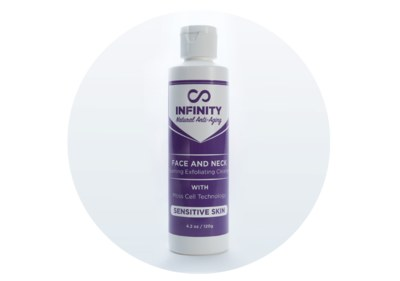 Free Sample of Infinity Organic Foaming Exfoliating Cleanser