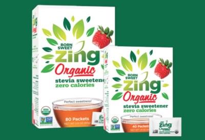 Born Sweet Zing™ Organic Stevia Sweetener - Zero Calorie