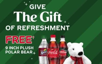 Free Plush Coca-Cola Polar Bear