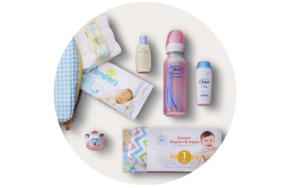 Free Welcome Kit from Target for Baby Registry