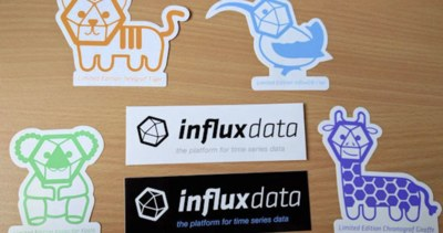 Free Stickers from InfluxData