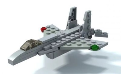 Free Lego Fighter Jet