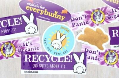 Free Annie's Bunny Stickers