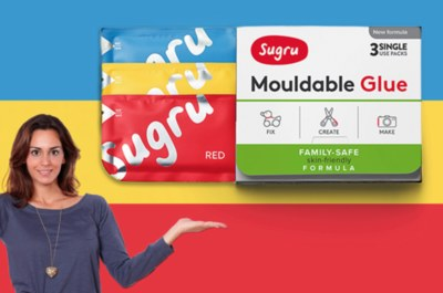 Free Sugru Moldable Rubber Sample
