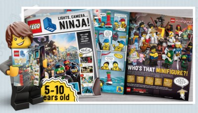 LEGO Life Magazine Free Subscription