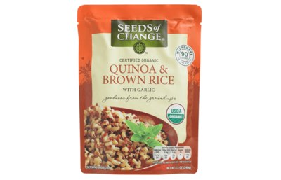 Free Organic Quinoa & Brown Rice Pouch by Seeds of Change
