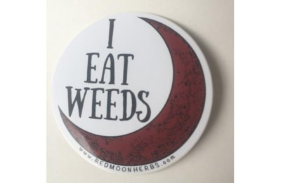 Free I Eat Weeds Sticker