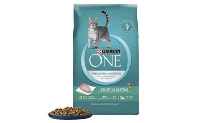 Free Bag of Purina ONE Cat Food