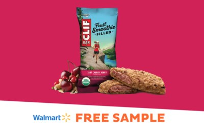 Free Sample CLIF® Fruit Smoothie Filled Energy Bars