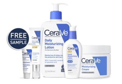 Free Sample of CeraVe Skin Care