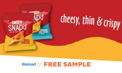Cheez-It Snap'd Free Sample