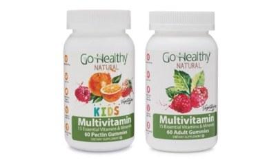 Free Go Healthy Natural Vitamin Gummies