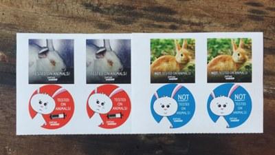 Free Happy Bunny, Sad Bunny Stickers