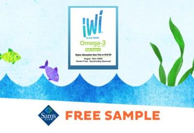 Free Sample of IWi Algae Based Omega 3